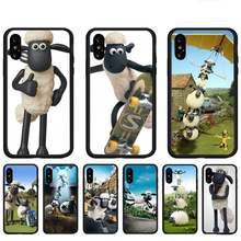 Sean as ovelhas capinhas de telefone para huawei p9 p10 p20 p30 p40 lite por psmart 2019