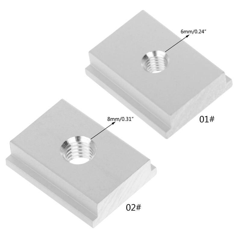 M6 M8 T-slot T-Slider Sliding Nut For Woodworking Tool Slot Fastener Jigs Pressing Plate