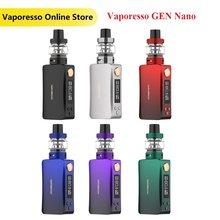 Новый оригинальный набор Vaporesso GEN Nano 80 Вт, wi/ 2000 мА/ч, встроенный аккумулятор и бак GTX 3,5 мл, 22 вейп-комплект электронной сигареты vs Drag X