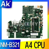 FOR lenovo IdeaPad 320 15ACL 320 15AST Laptop Motherboard DG425 DG525 DG725 NM B321 A4 CPU Motherboard tested 100% work