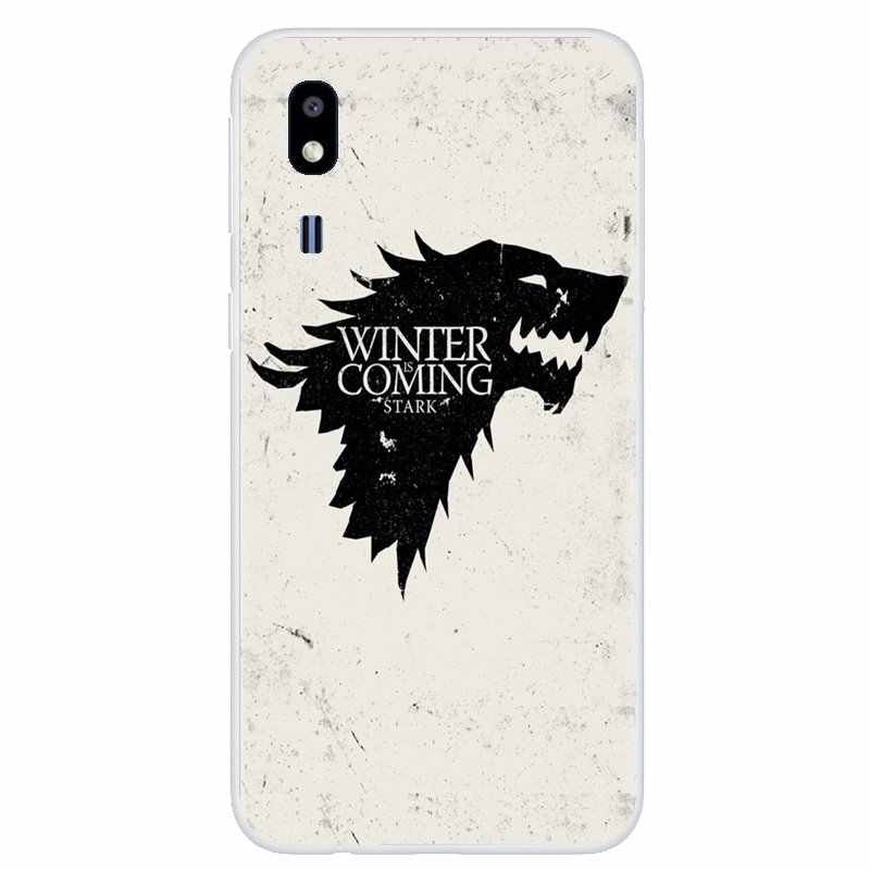 For iPhone 11 Pro 4 4S 5 5S SE 5C 6 6S 7 8 X XR XS Plus Max For iPod Touch Game of Throne House Stark Wolf Symbol Silicone Cover