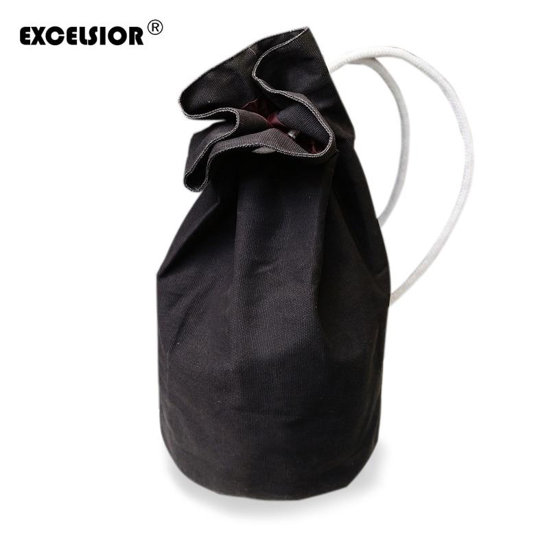 EXCELSIOR Fashion Backpacks Original Design Drawstring Bag Women Man Backpack Canvas Shoulder Bags mochila feminina