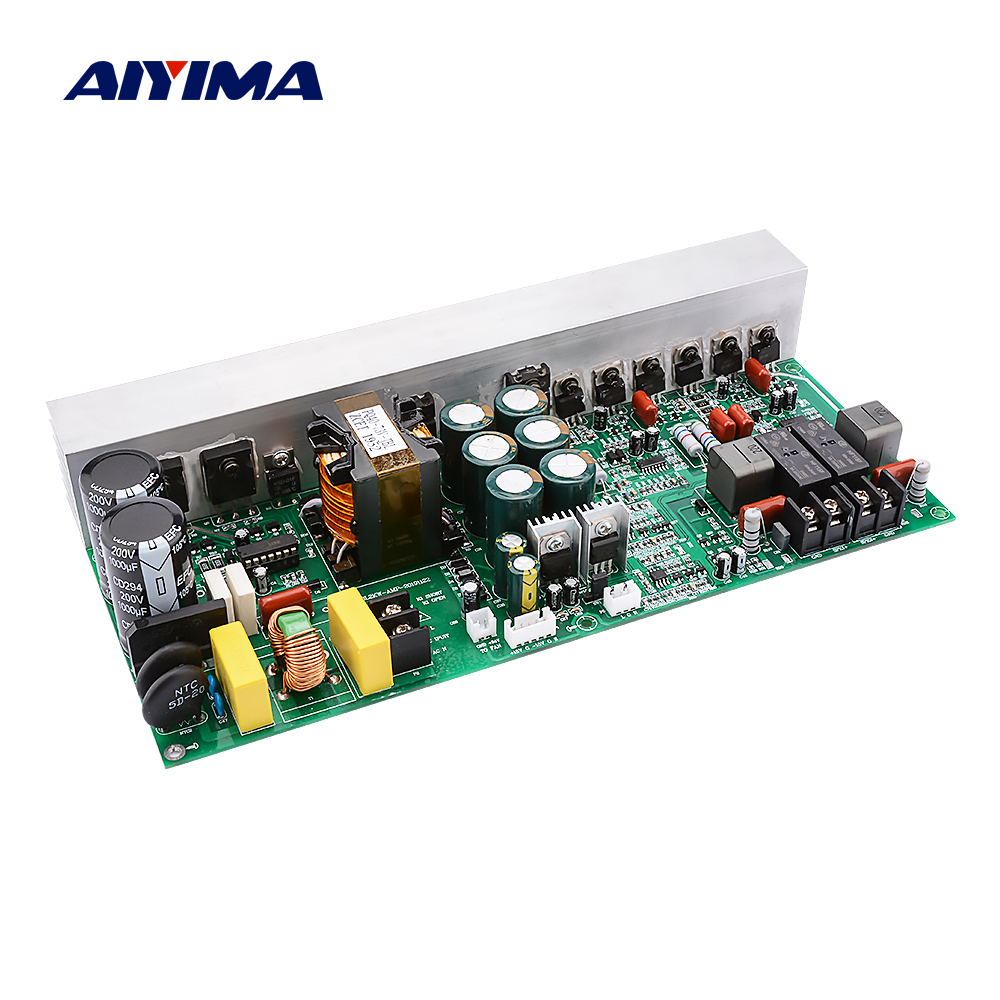 AIYIMA Digital Power Amplifier Audio Board 500Wx2 Stereo Sound Amplifier Speaker Amp With Switch Power Supply Home Theater DIY
