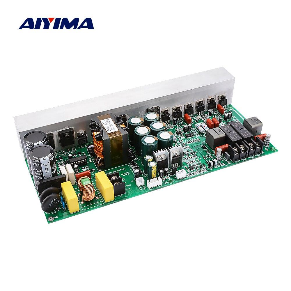 AMPLIFICADOR DE POTENCIA Digital AIYIMA, tarjeta de Audio 500Wx2, amplificador de sonido estéreo, amplificador de altavoz, amplificador con interruptor de fuente de alimentación para cine en casa DIY