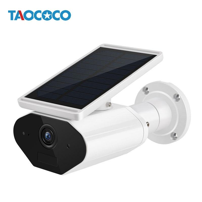 1080P Solar Low Power WiFi Camera Waterproof Wireless IP Camera Outdoor Security Bullet Camera Surveillance Infrared CCTV Camera