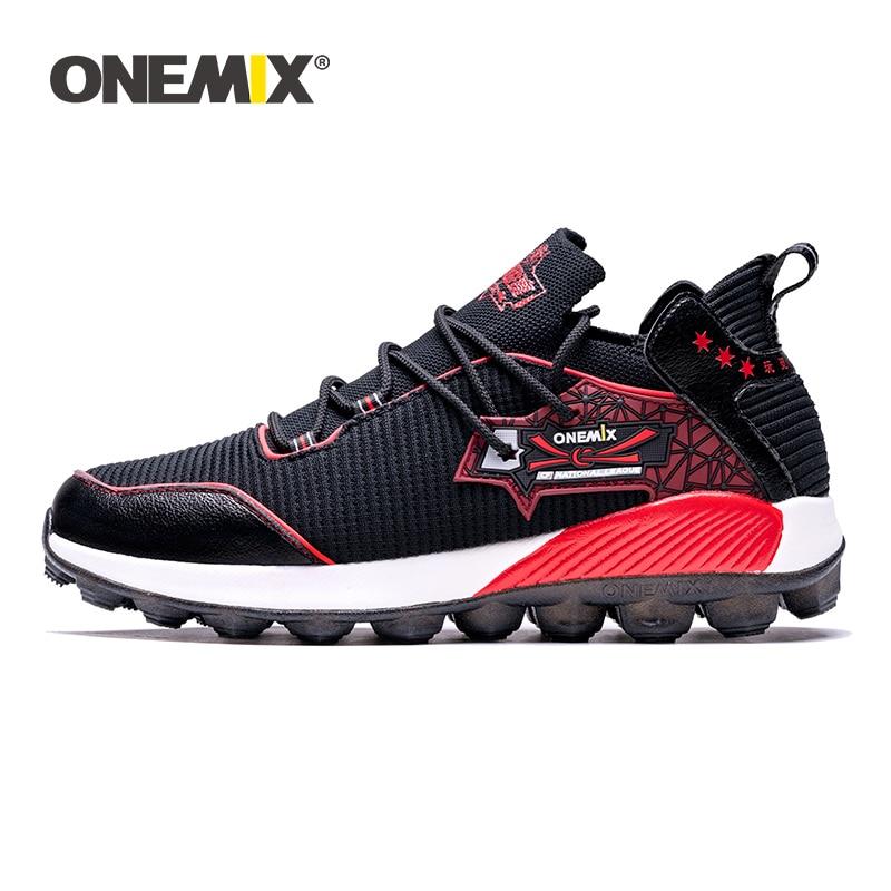 ONEMIX Chaussures de Course Hommes Femmes Baskets de Sport Respirantes Casual Outdoor Fitness Securit/é Sneaker