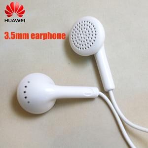 Original Huawei Y6 Earphone Headset Mic 3.5mm for nova 2 3 2i 3i 3e P20 P30 P10 lite honor 8 9 8X 9X 9I 8I 7X V20 MAX mate 7 8 9(China)