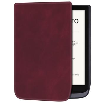 Skrzynka dla 7 8 #8222 PocketBook 740 InkPad 3 pro eReader lekki ultracienki magnetyczny miękka usztywniana obudowa z automatyczne uśpienie funkcja Wake tanie i dobre opinie Aroita Osłona skóra 7 8 For PocketBook 740 Solid 14cm Na co dzień Wodoodporna Odporny na wstrząsy Odporność na spadek