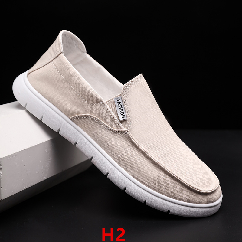2020 New FashionMen Shoes Flats  Casual Shoes Man Breathable Male Sneakers H1-5