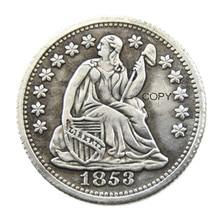 USA 1853-P-O Liberty Seated Half Dime Copy Coins