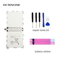 Запасная батарея dctenor для galaxy note 122 p900 p901 p905