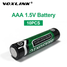 VOXLINK 10PCS 1.5v aaa battery  LR6 AM3 R03 MN1500 Carbon Dry Battery Primary Battery For keyboard camera flash remote control sale 4 10pcs 1 5v lithium aa battery 3000mah lr6 am3 2a lifes2 cell dry primary battery for camera and toys electric shaver