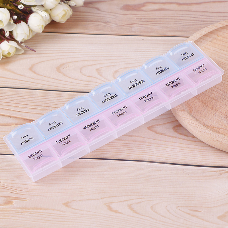 7 дней таблеточная медицина коробка Еженедельный держатель для планшета Органайзер Контейнер Чехол Коробка для таблеток разветвители
