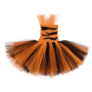 Image 5 - Kaplan kız Tutu elbise kıyafet hayvanat bahçesi hayvan Toddler bebek kız fantezi performans doğum günü partisi elbiseleri çocuklar cadılar bayramı kostümleri Set