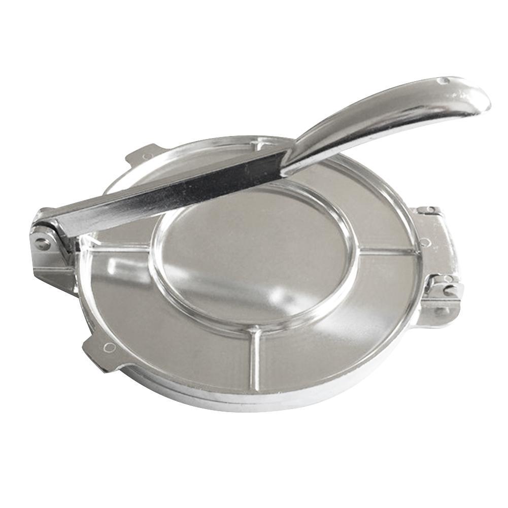 """Tortilla Press 8/"""" Heavy Duty Aluminum Tortilla Maker Machine for Picnics Kitchen"""
