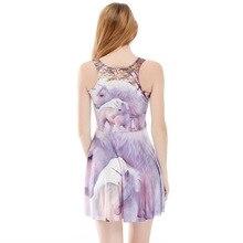 Европа и Америка юбка цифровая печать Талия обнимает похудение женская большая юбка 1241