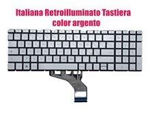 Italiana retroilluminato argento tastiera por hp 17-bw/17-cn/15-cn/15-cs/15-cw