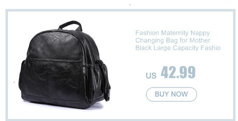 He2f94bf9af0640d2b04d40216d1512f2E Fashion Maternity Nappy Changing Bag for Mother Black Large Capacity Fashion Diaper Bag with 2 Straps Travel Backpack for Baby