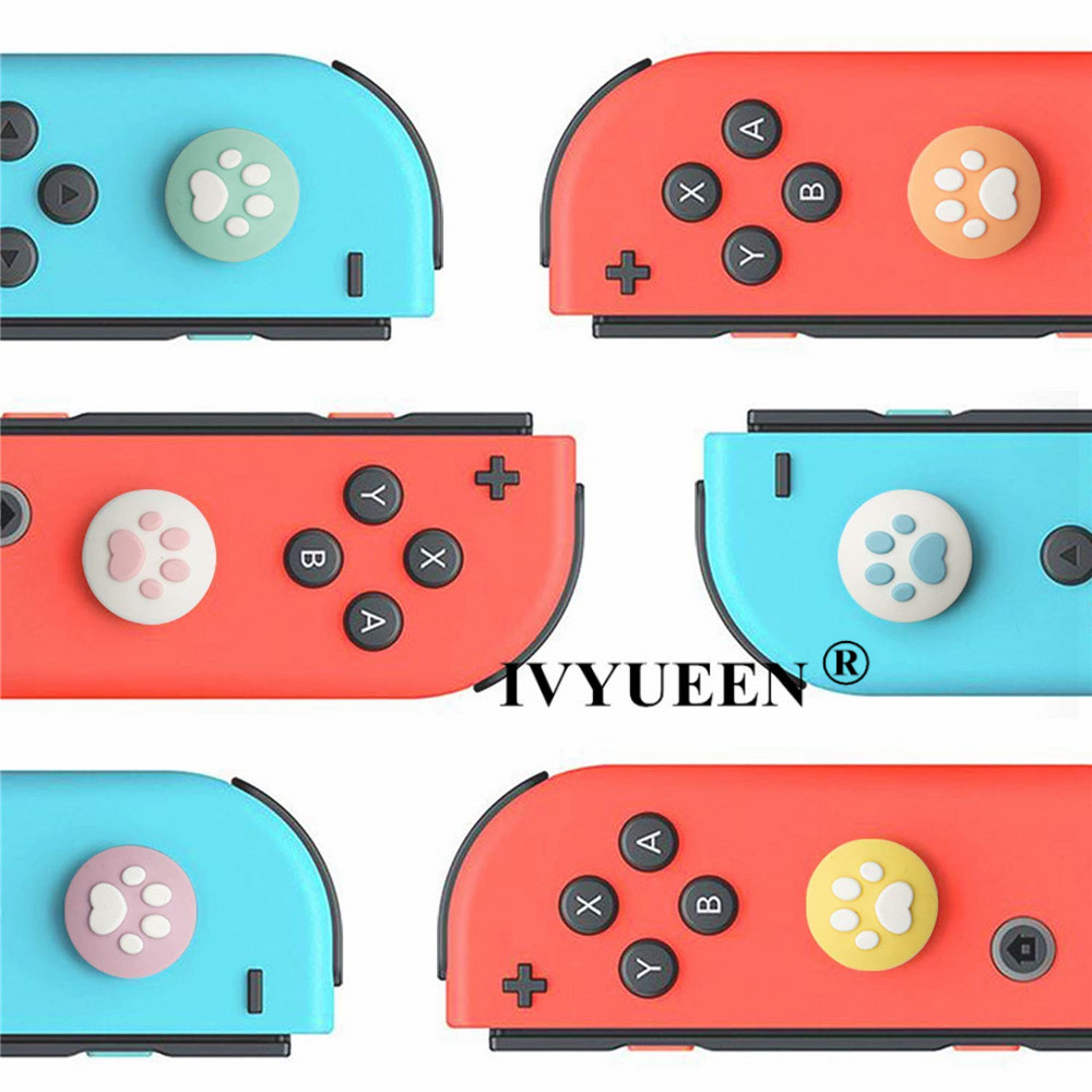 for Nintend switch lite joycon joy con analog thumb stick grip caps 09