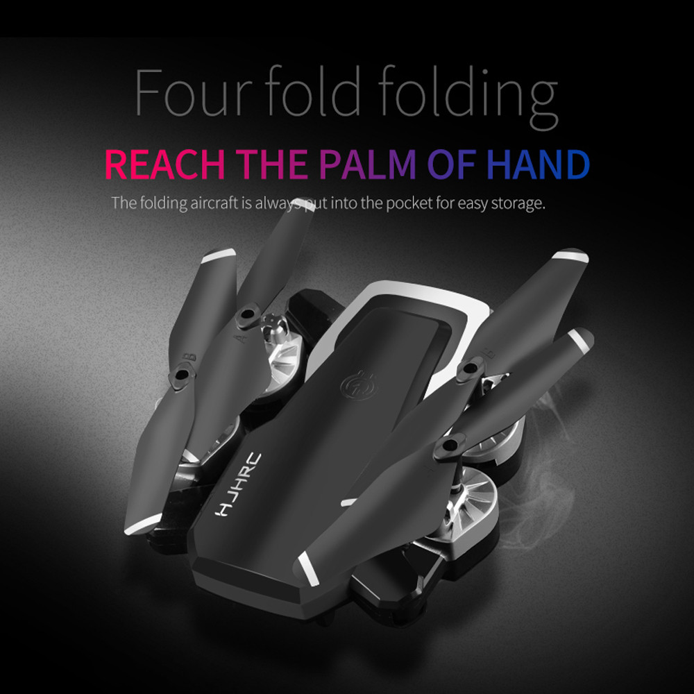 HJ28 Drone 5.0MP 1080P  Wifi FPV Foldable 6-Axis Gyro Headless RC Helicopter Quadcopter Drones Selfie With Camera HD 3