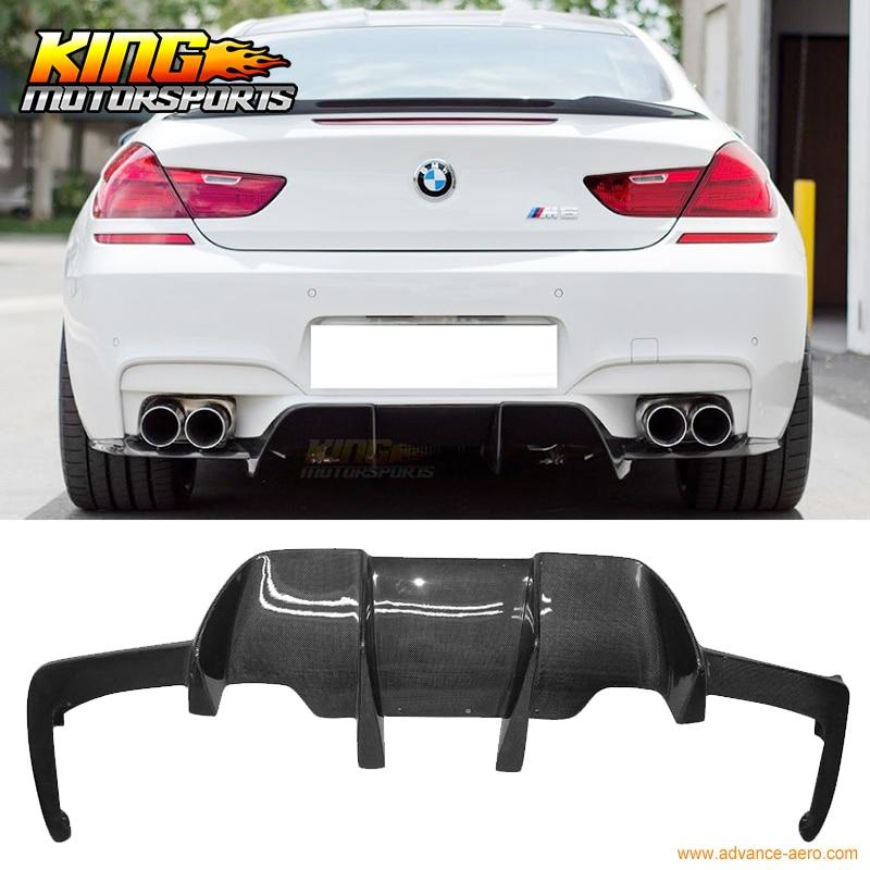 "BMW 6 series F06 4 door carbon fibre rear spoiler /""V style/"""