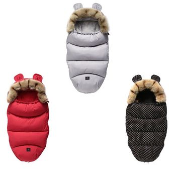 Baby Stroller Sleeping Bag Winter Warm Sleepsacks Robe Newborn Infant Footmuff