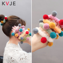 KVJE 2019 New Product Velvet Scrunchies Crunchy Hair Ties Elastic Accessories for Girls Bands Women  HOT SALE