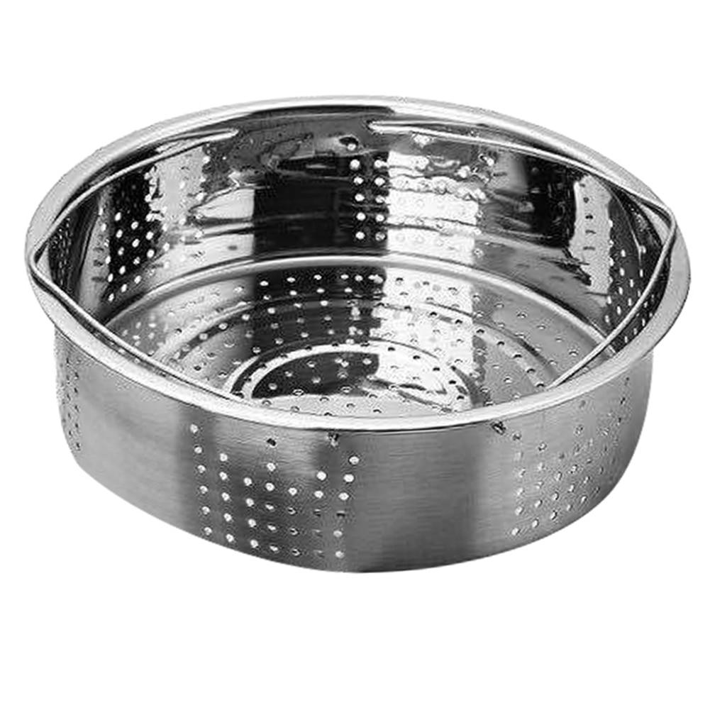 Stainless Steel Pot Steamer Basket Egg Steamer Rack Divider For Pressure Cooker Pot MDJ998