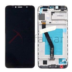 "Image 2 - 5.7 ""Display Für Huawei Ehre 7C LCD Display 7A ATU LX1 Touchscreen Für Honor 7A Pro Display Mit Rahmen AUM L29 AUM L41"
