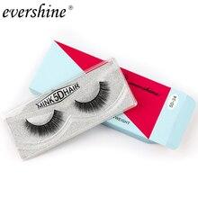 New 1 pair natural false eyelashes fake lashes long makeup 5d mink lashes extension eyelash mink eyelashes for beauty hot sale недорого
