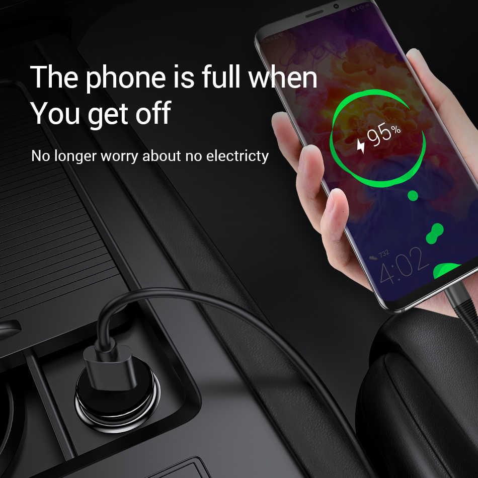 Marjay 18W Pengisian Cepat 3.0 4.0 Cepat Charger Mobil Usb untuk Xiao Mi Mi 9 Huawei Samsung S8 iPhone X tablet Telepon Mobil Charger QC 3.0