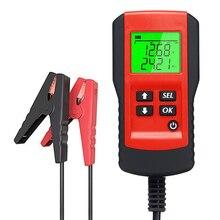 Outil de Diagnostic de batterie de voiture, testeur de charge, analyseur de tension en pourcentage de la durée de vie de la batterie, charge rapide, 12V