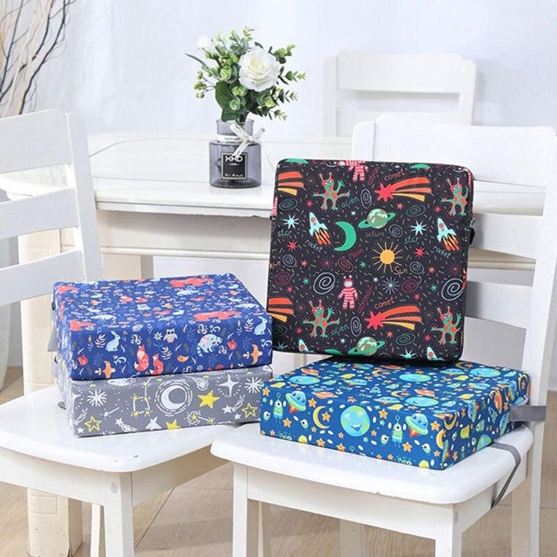 Переносной усилитель для детского стула, регулируемая съемная моющаяся утолщенная поролоновая подушка для детского стула для кормления малышей 2