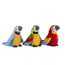 Plush-Toy Talking-Parrot Toys Interactive-Toys Speaking Electronic 12-Months Cute