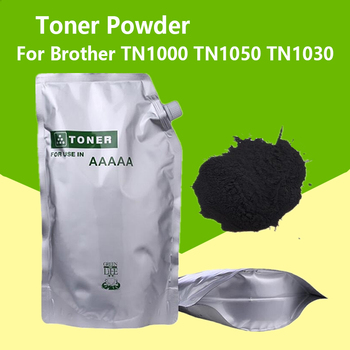 ASW 500G Black Toner Powder Compatible for Brother TN1000 TN1050 TN1030 TN1060 TN1070 tone HL-1110 1112 1202R printer - discount item  7% OFF Office Electronics