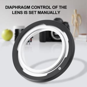 Image 1 - Metal adaptör halkası M42 FD M42 vida Canon lensi FD F 1 A 1 T60 Film kamera adaptörü makro halka