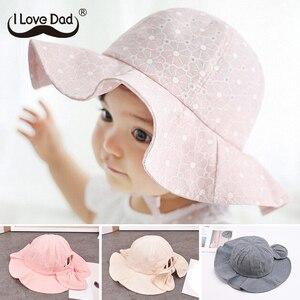 Summer Baby Hat Infant Baby Girl Sun Hat Cotton Children Kids Summer Hat Beach Bucket Cap Toddler Girls Hat Casquette Enfant(China)