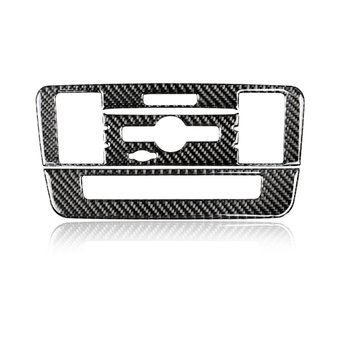 1 Set For Central Control CD Air Conditioner Panel-B carbon fiber Decorate your car give a personlized look
