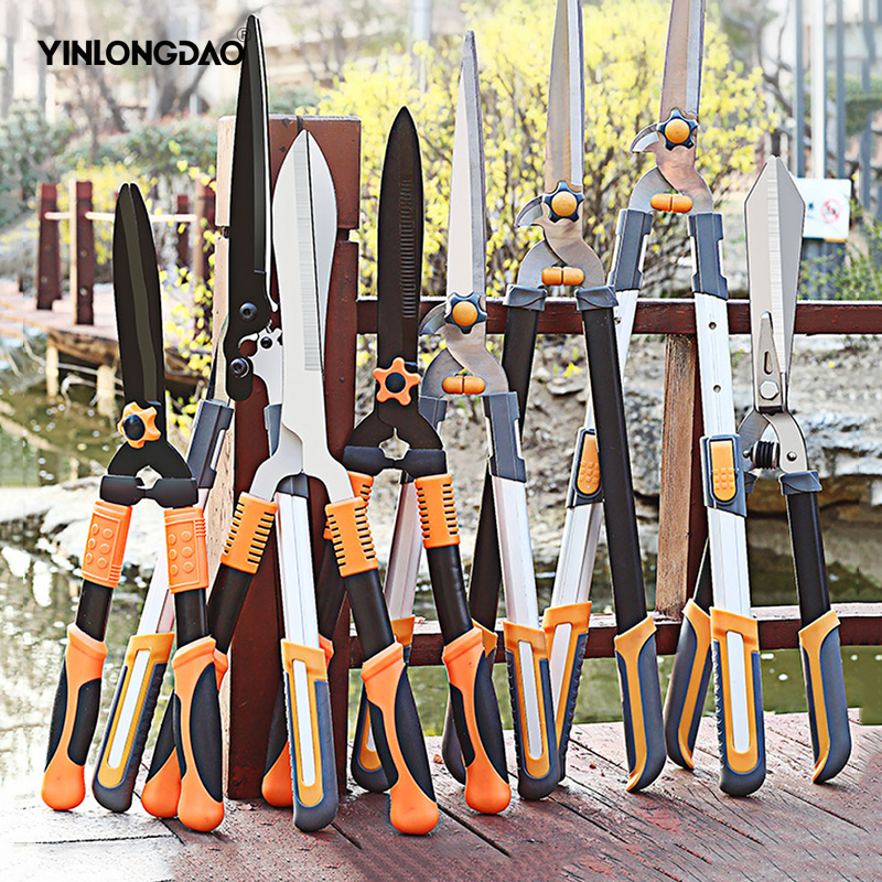 Household Garde Pruning Shears For Lawn Branches Fruit Trees Pruning Large Enhanced Garden Manual Pruning Tool With Gloves DIY