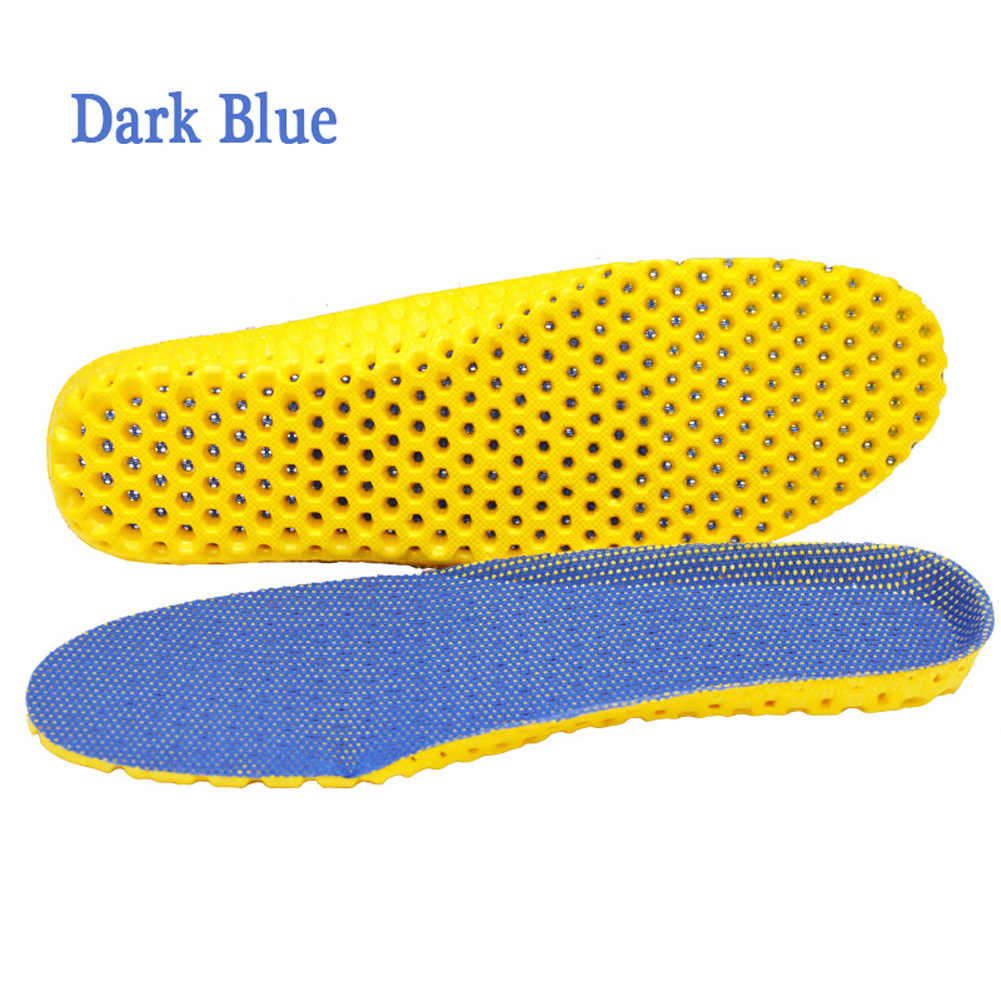 Almofada ortopédica almofada de sapato de espuma de memória estiramento respirável unisex palmilhas para sapatos sola desodorante correndo coxim palmilhas para pés