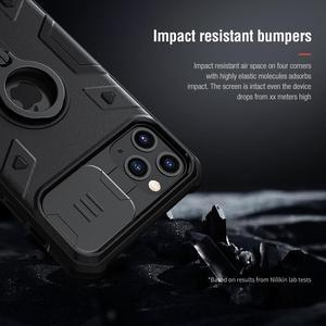 Image 5 - Ochrona aparatu dla iPhone 11 Pro Max pierścień stojak Case ,NILLKIN slajdów pokrywa dla iPhone 11 6.5 2019 pokrywa dla iPhone 11 Pro przypadku