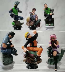 Image 5 - 6 PCS PVC Anime Naruto Action Figures Dolls Set New Uzumaki Naruto Uchiha Sasuke Hatake Kakashi Model Collection Gift Toys