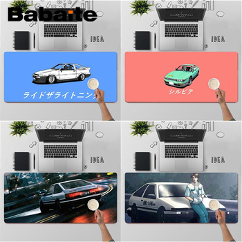 Babaite Top Quality INITIAL D Super car AE86 gamer play mats Mousepad Free Shipping Large Mouse Pad Keyboards Mat image