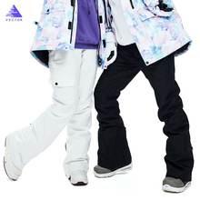 2020 вектор мужские и женские лыжные брюки для девочек зимние