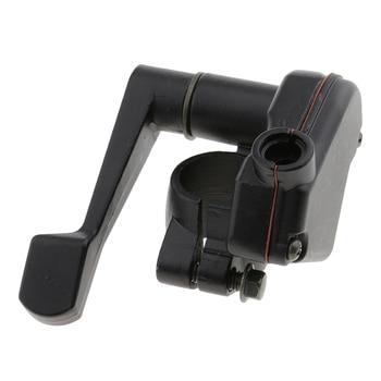 "Ensamblaje para controlador de pulgar del acelerador para 47cc 49cc Mini Motor Quad ATV para 22mm 7/8 ""Barras de mango motocicleta pulgar acelerador negro"