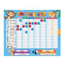 Magnetic Reward Chart Set Reward Behavior Star Chore Chart For Kids Toddlers Teens
