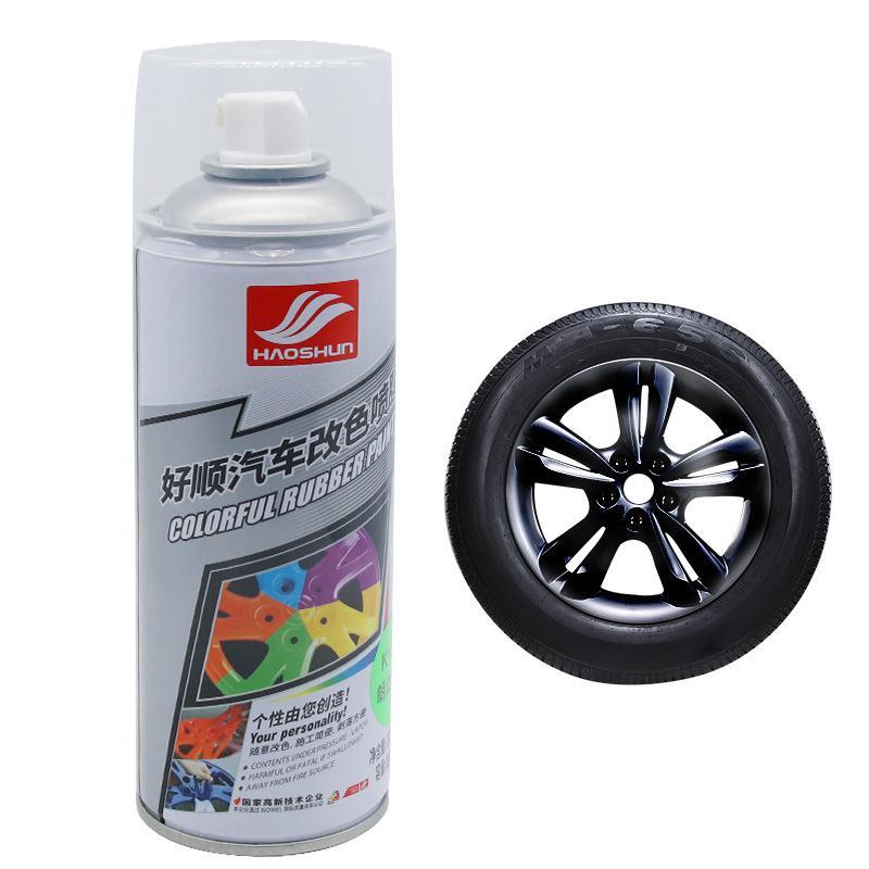 Película de aerosol de rueda de coche Borzecki rueda de cuerpo de coche completa rueda de Color de pintura de rasgado de mano puede rasgar película de pulverización