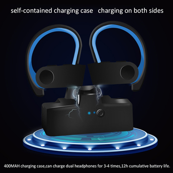 Wireless Bluetooth 5.0 Headset Earphones Earpieces TWS Earphone Earbuds Handsfree Ear Phones Sports