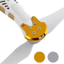Base protetora para montagem de motor, 4 unidades, proteção anit crack kits para dji phantom 2 3 3a peças sobressalentes para drones 3p 3s se