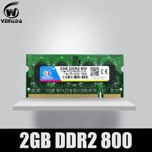 DDR2 2GB 2-Pc2-6400 VEINEDA Notebook Laptop Memory-Ram 800mhz 4GB NON-ECC